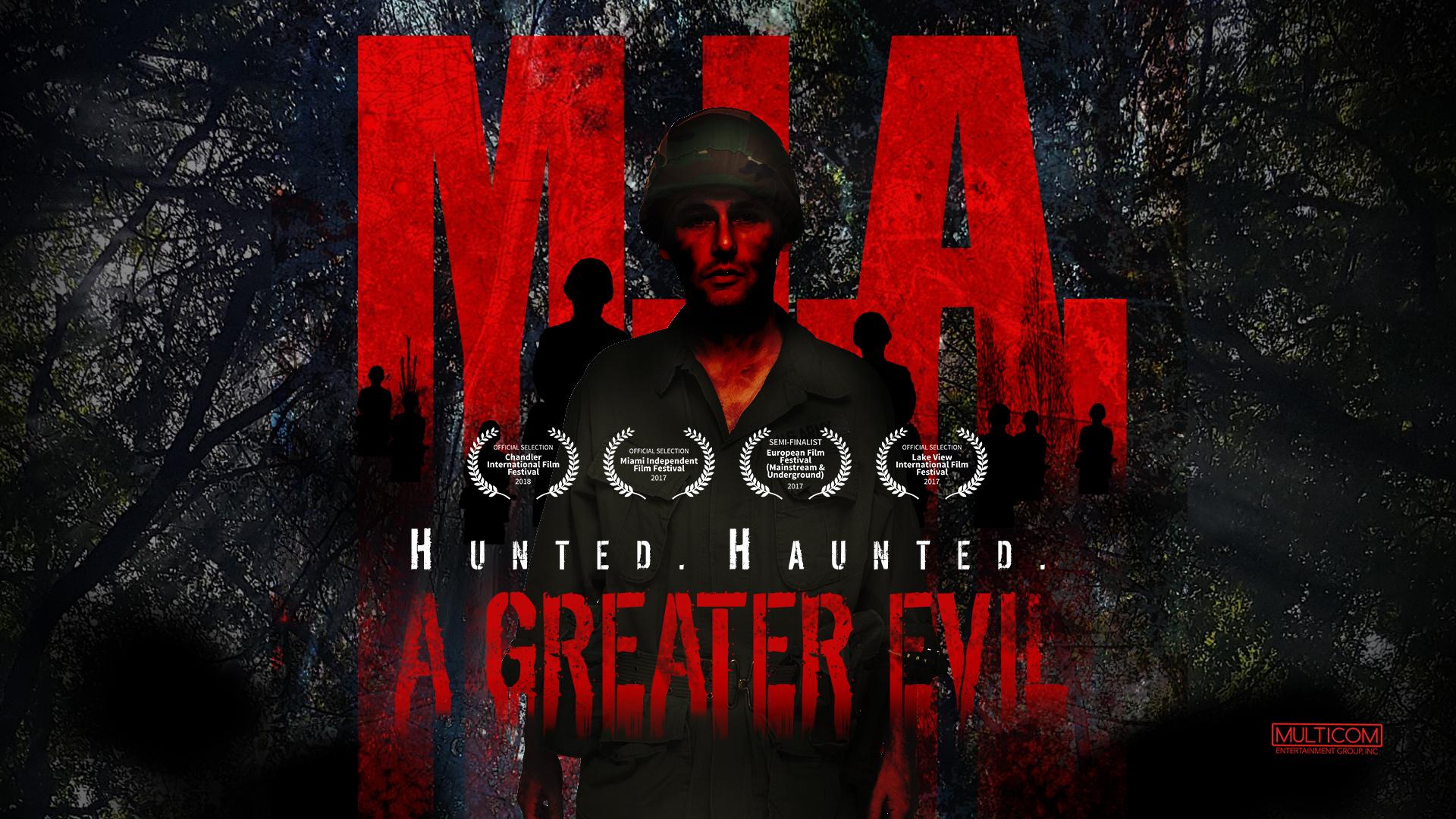 "MULTICOM ENTERTAINMENT GROUP ""Hunted…Haunted"" // M I A  A"